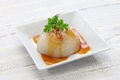 Półdupki bladzi, bawan, tajwańska mega klucha, Fotografia Stock