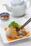 Półdupki bladzi, bawan, tajwańska mega klucha, Obraz Royalty Free
