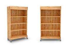 Półka na książki lub zakupy stojak ilustracji