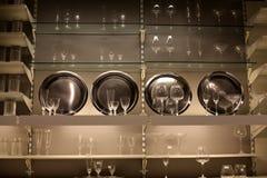 Wymarzona kamerdynerska śpiżarni ściana obrazy stock