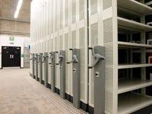 półki mobilny nowożytny storehouse Zdjęcie Stock