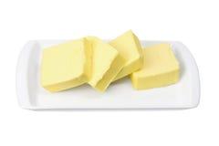 półkowi masło plasterki Obraz Stock