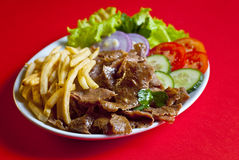 półkowy kebab turkish Fotografia Stock
