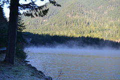 Półksiężyc Jezioro fotografia stock