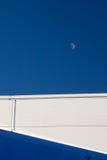 Półksiężyc księżyc 1 Obrazy Royalty Free