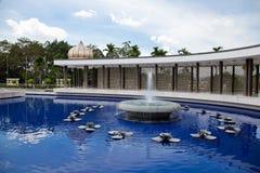 półksiężyc negara pawilonu kształtny turu Fotografia Stock