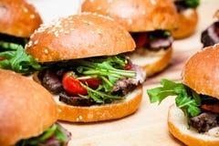 Hamburgery zdjęcia royalty free