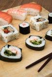 półmiska sushi Obrazy Royalty Free