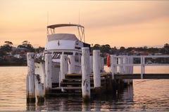 Półmrok colours przy Lilyfield NSW Australia obrazy stock