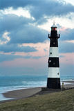 półmrok latarnia morska zdjęcia stock