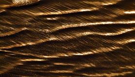 Półmrok na Natron jeziorze Tanzania zdjęcie stock
