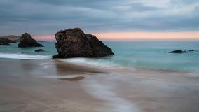Półmrok przy Sango piaskami zdjęcia royalty free