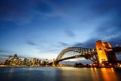 Półmrok przy Sydney schronieniem obrazy royalty free