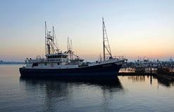 Półmrok San Diego zatoka obrazy stock