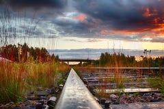Półmrok w Finlandia zdjęcia stock
