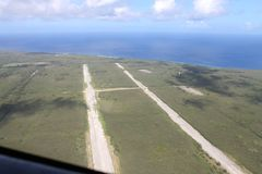 Północ Śródpolny Tinian Zdjęcia Stock