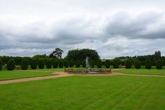 Północ ogród, Montacute dom, Somerset, Anglia zdjęcie royalty free