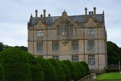 Północ przód, Montacute dom, Somerset, Anglia obraz stock