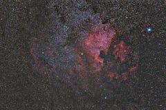 Północna Ameryka mgławica Obraz Stock