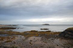 Północna Berwick plaża Zdjęcia Royalty Free