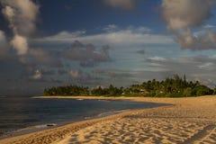 Północna brzeg plaża fotografia royalty free