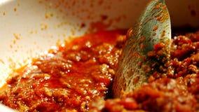 Północna chili pasta obraz stock