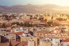 Północna część Nikozja Cypr Fotografia Royalty Free