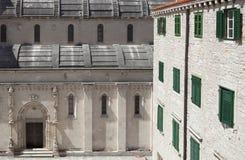 Północna fasada świętego James katedra obrazy royalty free
