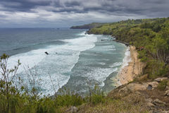 Północnego Maui wybrzeża Kapalua Maui Hawaje Zachodni usa Zdjęcie Stock