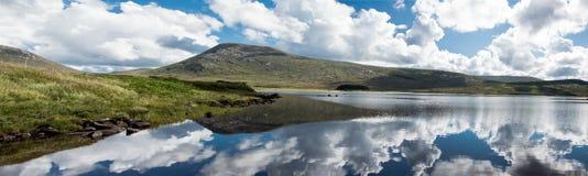 Północnej connemara lake Zdjęcie Royalty Free