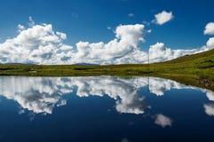 Północnej connemara lake Fotografia Royalty Free