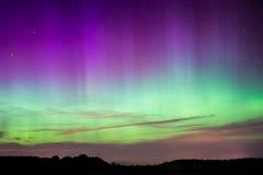Północni światła, zorza Borealis Zdjęcie Royalty Free