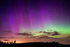 Północni światła, zorza Borealis Zdjęcia Stock