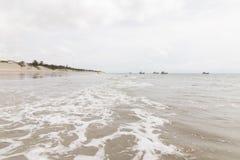Północni coastile, rio grande robią Norte, Brazylia obrazy royalty free