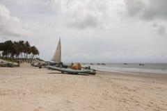 Północni coastile, rio grande robią Norte, Brazylia Fotografia Royalty Free