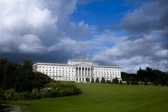 Północni - Ireland kierownictwo - parlamentów budynki, Stormont, Belfast fotografia stock