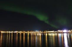 północni kolorowi światła Obrazy Stock
