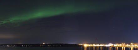 północni kolorowi światła Obraz Stock