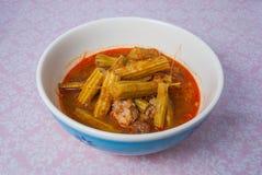 Północni Tajlandzcy Marum Curry/Kaeng Marum/Kaeng półdupki Zdjęcia Stock