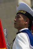 Północno-koreański żołnierz Zdjęcia Royalty Free
