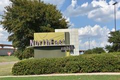 Północno-wschodni centrum handlowe w Hurst, Teksas obrazy royalty free