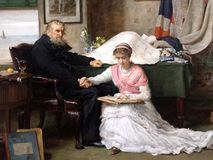 Północno-zachodni przejście John Everett Millais Zdjęcie Stock