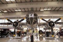 Północnoamerykańska B-25 nazwany Mitchell bombowiec Obraz Stock