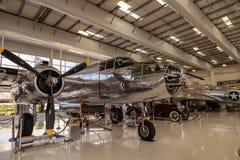 Północnoamerykańska B-25 nazwany Mitchell bombowiec Fotografia Stock