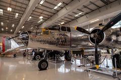 Północnoamerykańska B-25 nazwany Mitchell bombowiec Obraz Royalty Free