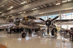 Północnoamerykańska B-25 nazwany Mitchell bombowiec Zdjęcia Stock