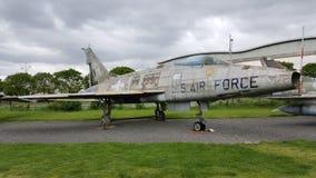 Północnoamerykańska F-100D Super szabla obrazy stock