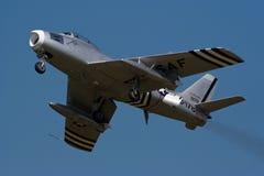 Północnoamerykańska Szabla F-86 Obrazy Stock