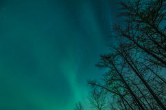Północny światło Obrazy Stock