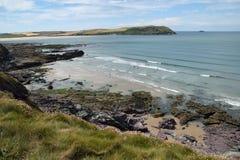Północny Cornwall wybrzeże obrazy royalty free